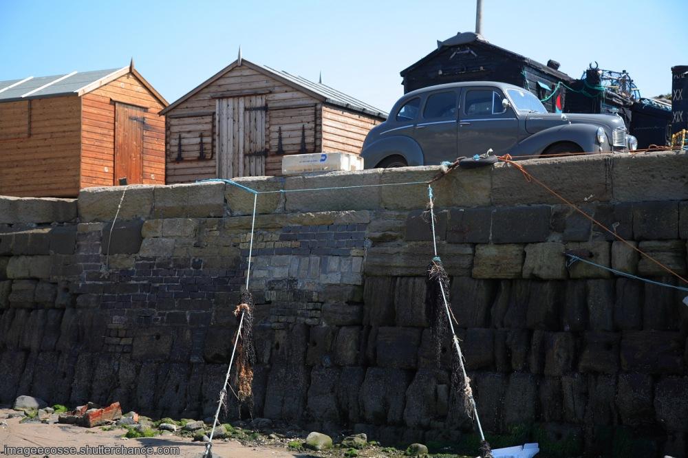 photoblog image Sheds at the harbour